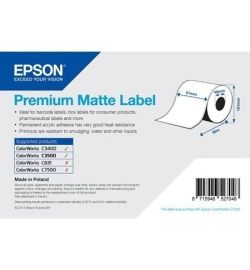 Epson label roll, normal paper, 76x127mm-C33S045535