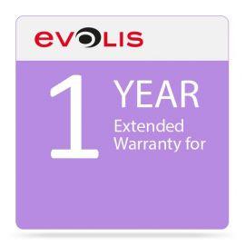 Evolis warranty extension, 1 year-EWZN112SD