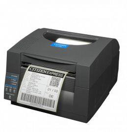 Citizen CL-S521II, 8 dots/mm (203 dpi), EPL, ZPL, Datamax, multi-IF (Ethernet), black-CLS521IINEBXXE