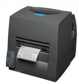 Citizen CL-S631II, 12 dots/mm (300 dpi), EPL, ZPL, Datamax, multi-IF (Ethernet), black-CLS631IINEBXXE