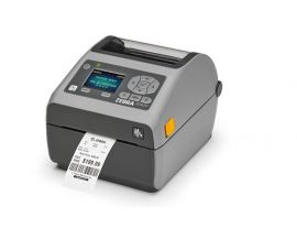 Zebra ZD620d, 12 dots/mm (300 dpi), RTC, display, EPLII, ZPLII, USB, RS-232, Ethernet, grey-ZD62143-D0EF00EZ