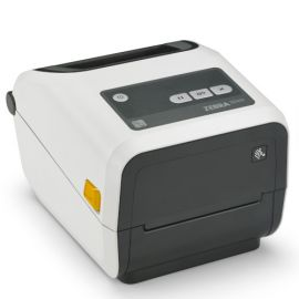 Zebra ZD421c Healthcare, cartridge, 12 dots/mm (300 dpi), RTC, EPLII, ZPLII, USB, USB Host, BT (BLE), Ethernet, white-ZD4AH43-C0EE00EZ